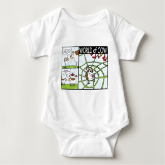 Cow Invasion, Extreme Lip-Biting and Burger Spider Baby Bodysuit