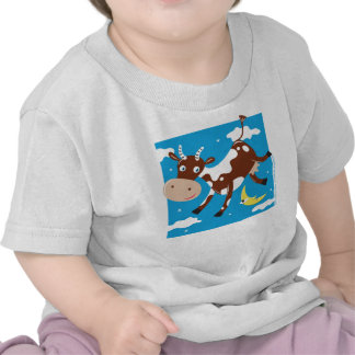 """""""Cow Jumped Over the Moon"""" T Shirt"""