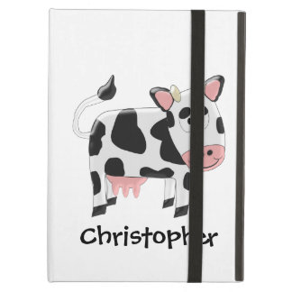 Cow Just Add Name Case For iPad Air