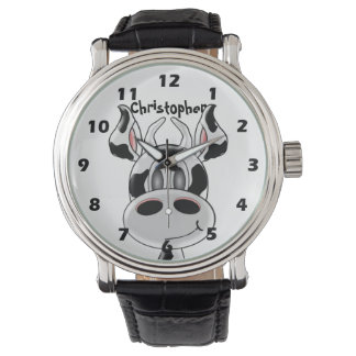 Cow Just Add Name Watches