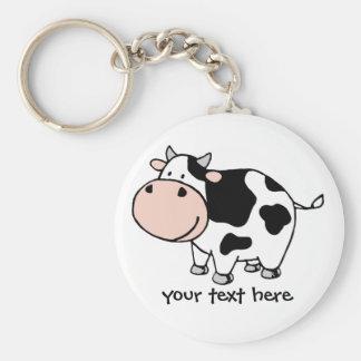 Cow Key Ring