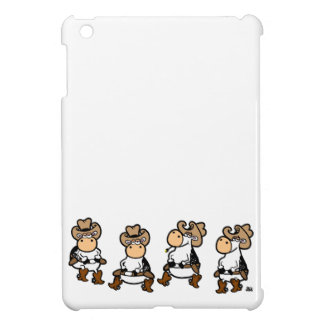 Cow Line dancin' Cover For The iPad Mini