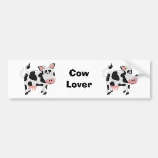 Cow Lover Bumper Sticker