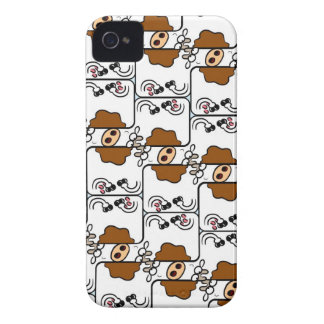 Cow Matrix iPhone 4 Covers