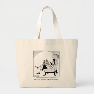 Cow, Moon & Growth Hormones Tote Bag