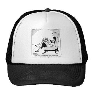 Cow, Moon & Growth Hormones Mesh Hats