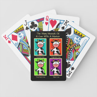 Cow Mooods Playing Cards