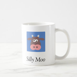 Cow Basic White Mug