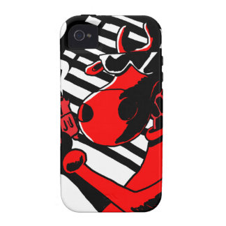 Cow Noir iPhone 4 Cover