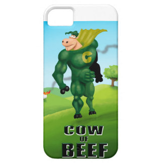 COW of BEEF! iPhone 5 Covers