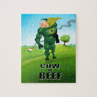 COW of BEEF! Jigsaw Puzzle