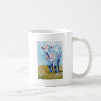 Cow Painting Basic White Mug
