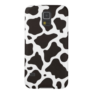 Cow pattern background galaxy s5 cases