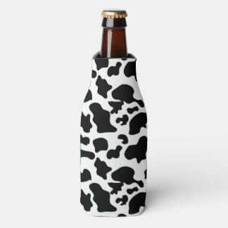 Cow Pattern Bottle Coozy