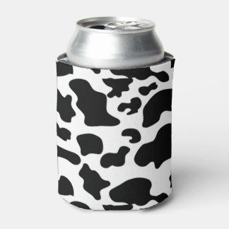 Cow Pattern Can Coozy Can Cooler