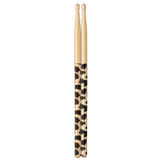 Cow pattern drumsticks