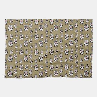Cow Pattern Tea Towel