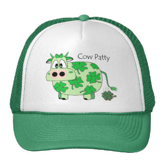 Cow Patty St Patrick's Day Hat