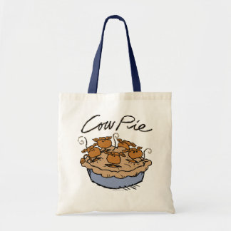 Cow Pie Budget Tote Tote Bag
