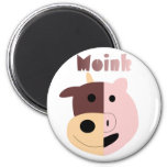 Cow + Pig = Moink magnet