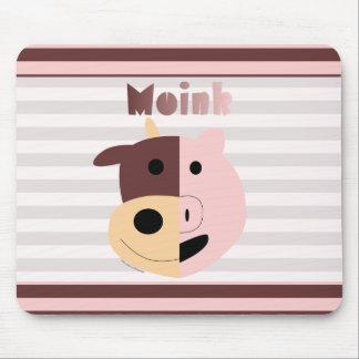 Cow + Pig = Moink mousepad