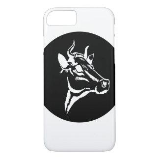 Cow portrait iPhone 7 case