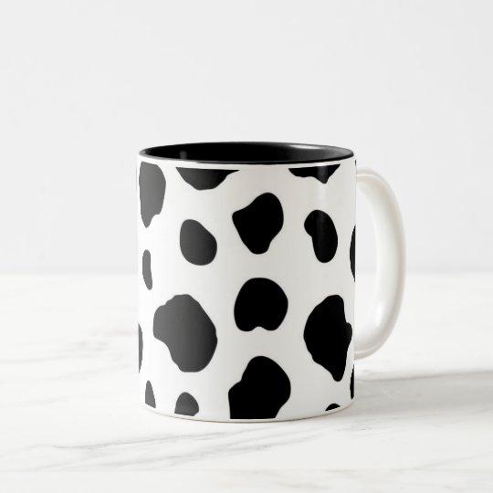 Cow Print Coffee Mug