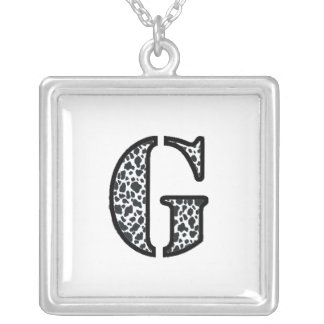 "Cow Print ""G"" jewelry and acessories"