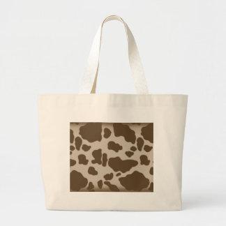 Cow Print Jumbo Tote Bag