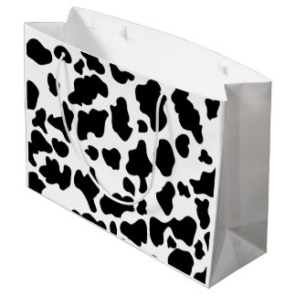 Cow Print Large Gift Bag