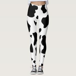 4124c5b843f7c1 Women's Cow Pattern Leggings & Tights | Zazzle UK
