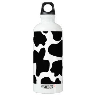 Cow Print Pattern Water Bottle