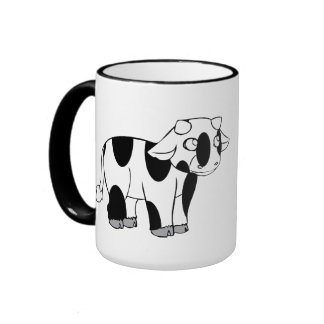 Cow Ringer Mug