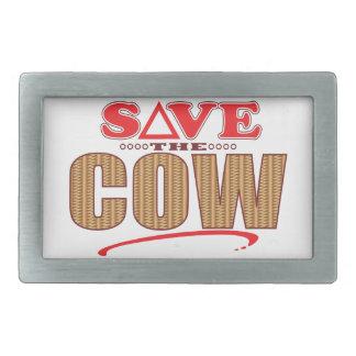 Cow Save Belt Buckle