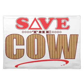 Cow Save Placemat