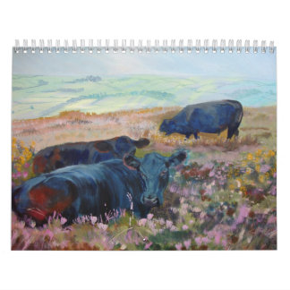 Cow Sheep and Horse Paintings 2012 calendar
