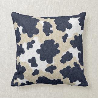 cow skin cushion