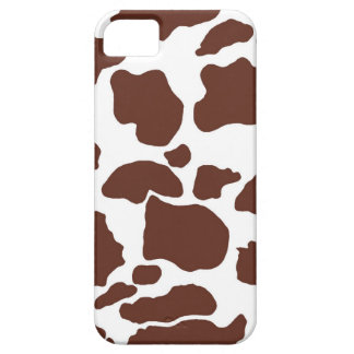 Cow skin Design brown - Phone 5 Case-Mate Barely T iPhone 5 Cases