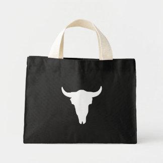 Cow Skull Mini Tote Bag