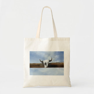 Cow Skull Tote Budget Tote Bag