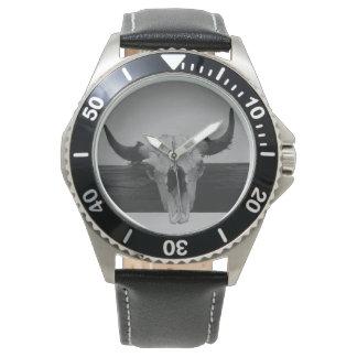 Cow Skull Watch
