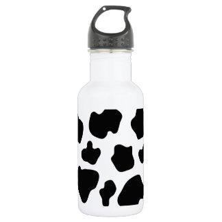 Cow spot pattern   Funny animal print 532 Ml Water Bottle