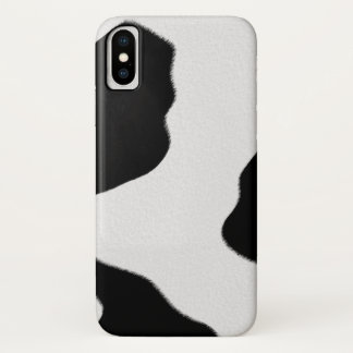 Cow Spots iPhone X Case