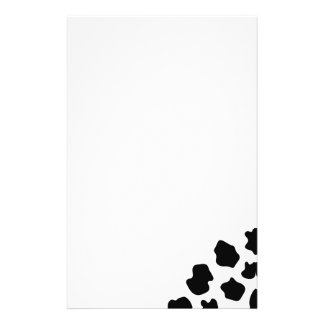 Cow spots pattern stationery | Funny animal print