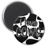 Cow Spots Refrigerator Magnet