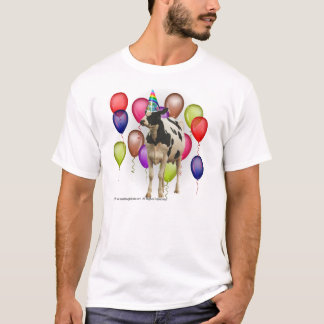 Cow Theme Birthday T-Shirt