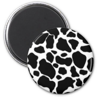 Cow to the freezer 6 cm round magnet