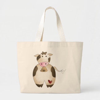cow tote bags