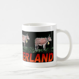 COW TRAIL COFFEE MUG