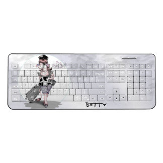 COW TRAVEL Custom Wireless Keyboard